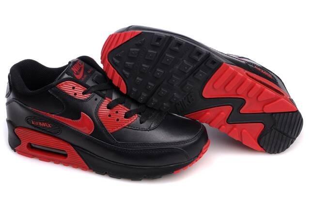 air max noir rouge